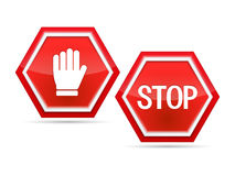 Stop Sign stock illustration