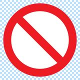 Info icon, Information sign icon. Info speech bubble symbol. i letter vector.Stop sign vector red icon. Vector warning or no entry royalty free illustration