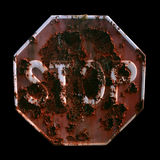 STOP signal Stock Images