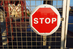 Stop signal Royalty Free Stock Photography
