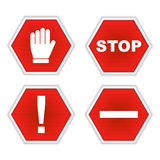 Stop Signs vector illustration