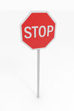Stop sing Royalty Free Stock Images