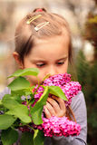 Stop & smell the flowers Stock Image