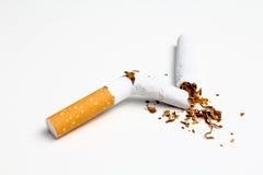 Stop smocking Stock Image