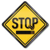 Stop smoking. Stop smokers and smoking cessation Royalty Free Stock Photography