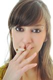Stop smoking Stock Images