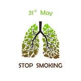 Stop smoking background Stock Photo