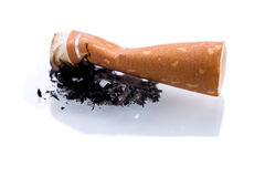 Stop smoking cigarettes  Royalty Free Stock Photography
