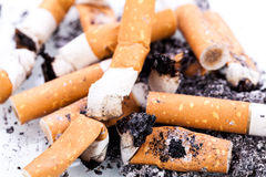Stop smoking cigarettes isolated Royalty Free Stock Photography