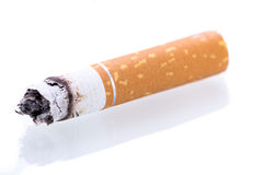 Stop smoking cigarettes isolated stock photos