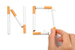 Stop Smoking Concept Royalty Free Stock Photos