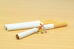 Stop smoking concept Royalty Free Stock Photography