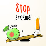 Stop smoking! Royalty Free Stock Images