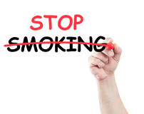 Stop smoking Stock Image