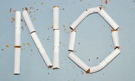 Stop smoking. Is harmful to health and worth the money Royalty Free Stock Photo