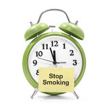 Stop smoking. It's about time to stop smoking Royalty Free Stock Photos