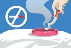 Stop Smoking Now Stock Images