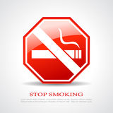Stop smoking poster Stock Photo