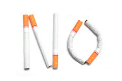 Stop smoking, quit, free, symbol cigarette tobacco. Background royalty free stock photography