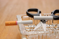 Stop smoking, quit smoking Stock Photos
