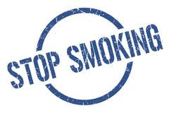 stop smoking stamp stock images