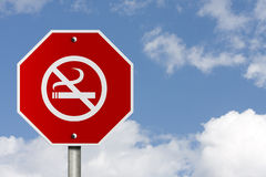 Stop Smoking Sign Stock Photography