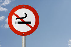 Stop Smoking Sign Royalty Free Stock Photos