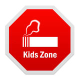 Stop smoking sign. royalty free stock photos