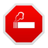 Stop smoking sign. Stock Photos