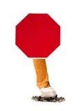 Stop smoking sign Stock Photo