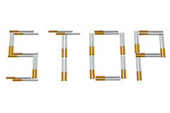 Stop smoking sign Royalty Free Stock Photography