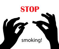 Stop smoking! Stock Photos