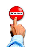 Stop spam Royalty Free Stock Photos