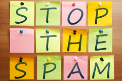 Stop the spam Stock Images