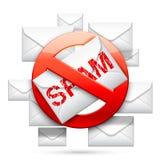 Stop Spam Sign Stock Photos