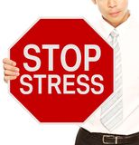 Stop Stress Royalty Free Stock Images