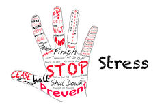 Stop Stress Royalty Free Stock Image