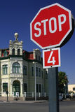 Stop in Swakopmund Stock Photography