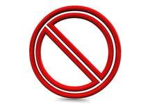 Stop symbol Stock Image