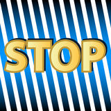 Stop symbol Royalty Free Stock Photos
