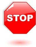 Stop symbol Royalty Free Stock Image