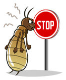 Stop termites Stock Images