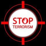 Stop terrorism. Royalty Free Stock Photo