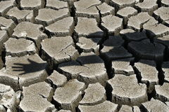 Free Stop The Environmental Pollution / Cracked Ground Royalty Free Stock Photography - 7854357