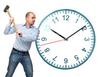 Stop the time Royalty Free Stock Photography