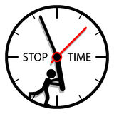 Stop time Royalty Free Stock Photos