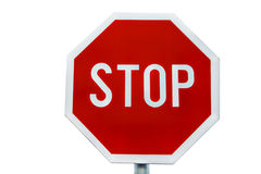 Stop traffic sign Royalty Free Stock Photography