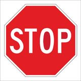 Stop Trafic sign Royalty Free Stock Photography