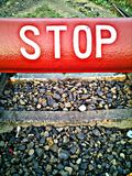Stop Shine Board Royalty Free Stock Images