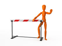 Stop! Under construction. Royalty Free Stock Photo